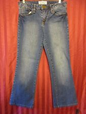 Phat Fashions Silver Label Women Distressed Boot Fit Jean Size 9 Measure 32x27