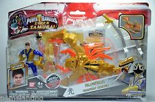 Power Rangers Super Samurai 20cm ClawZord Vehicle with 9cm Tall Blue Ranger NEW