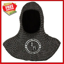 Chainmail Coif For Sale Chain Mail Coif Armor Chain Mail Hood Medieval Clothing