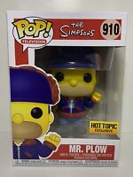 Funko POP! The Simpsons #910: HOMER SIMPSON as MR PLOW Hot Topic Exclusive