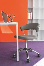 Calligaris Connubia Office Chair New York 624 LH Real Leather in 8 colours
