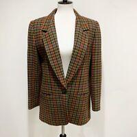 Collectible Gold by Giorgio Sant' Anjelo Women's wool coat Jacket Blazer Sz 10