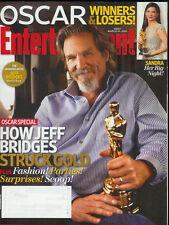 JEFF BRIDGES Kathryn Bigelow SANDRA BULLOCK Crazy Heart 2010 magazine