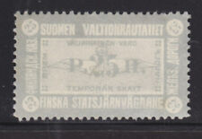 Finland HS V3I MNG. 1915 25p State Railway Tax Stamp