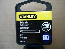 New Stanley 2 inch 1/2 inch Drive Impact Exention