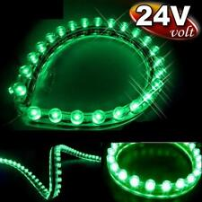 CAR AUTO VAN BUS TRUCK LED BULB LIGHT GREEN 24CM (Fits : 12 Volt / 24 Volt)