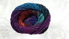 Noro Kureyon #327 Purple, Orange & Blue 50g