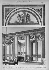 """Gros caractères de """"Les vieux Hotels de Paris"""" Hotel de Chatelet!"""