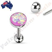 Tongue Piercing Jewellery Opal