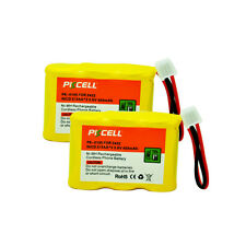2PCS Cordless Phone Battery Replacement NiCd 2/3AA 450mAh 3.6V for ATT AT&T 2422
