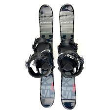 Snowjam Titan 75cm Skiboards Snowblades with Technine Snowboard Bindings New
