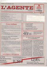 06 1989 - L'AGENTE DI COMMERCIO - ANNO 3 - N.6 - 06 1989 - CARO LETTORE