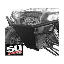 Polaris RZR Front Bumper & skid plate with LED tabs 570 800 XP900 Black Panel