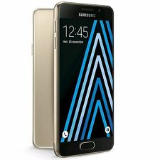 SAMSUNG GALAXY A3 6 SM-A310F GOLD 16GB FACTORY UNLOCKED 2016 MODEL PHONE ONLY