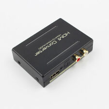 HDMI to HDMI Optical SPDIF RCA L/R Audio Extractor Converter Splitter+Cable Sale