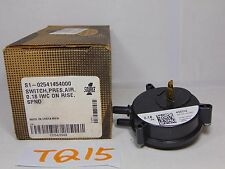 "YORK 02541454000 AIR PRESSURE SWITCH 0.18"" WC ON RISE FURNACE PART"
