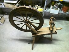 Beautifully Crafted Primitive Small Spinning Wheel