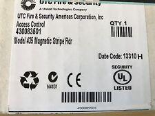 New  UTC Fire & Security 430083501 UTC Model 435  Magnetic Stripe reader