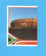 SOUTH/SUD AFRICA 2010-PANINI-Figurina n.12-JOHANNESBURG STADIO SX-NEW BLACK BACK