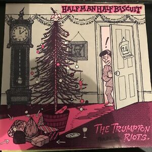 half man half biscuit  The Trumpeting Riots 7 Inch vinyl