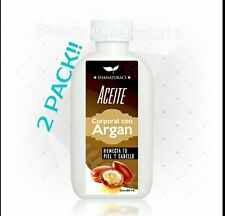 2 PACK! ACEITE DE ARGAN/ARGAN OIL Shanatural's cont. 60mL.Humecta piel & cabello
