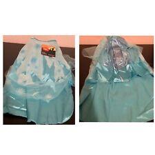 New Disney Frozen Elsa Large Pet Dog Blue Princess Dress Up Halloween Costume