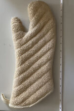 Pampered Chef Oven Mitt #1326 Usa Made Retired Style Heavyweight Terrycloth