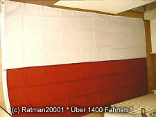 Fahnen Flagge Polen ohne Wappen - 1 - 150 x 250 cm