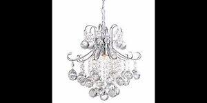 NEW Crystal Ball Chandelier Ceiling Light Pendant Lamp Lighting Fixture