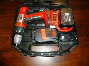 Black & Decker cordless hammer drill kit