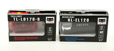 Cateye Front and Rear Bicycle Light Hl-EL120 Tl-LD170 Combo