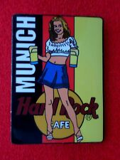 HRC hard rock cafe munich munich Beer Waitress Spanish Flag 2002