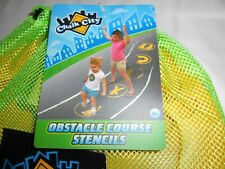 Chalk City Obstacle Course Stencils