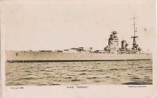 POSTCARD    SHIPS   HMS   RODNEY