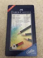 Faber Castell Art Grip Colour Pencils Set of 11 Ergonomic Triangular Tin Case