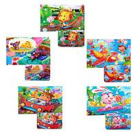 60 Stücke von Holzpuzzle Kinder Frühen Kindheit Lernspielzeug X