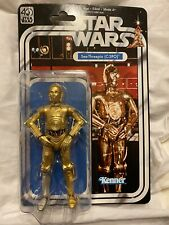 Hasbro Star Wars C-3PO 40th Anniversary Black Series Figure