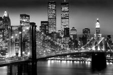 NEW York Manhattan schwarz - Berenholtz Poster Von Berenhotlz Richard 91 X 61cm