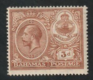 Bahamas 1920 #68 George V and Seal of Bahamas - MH