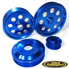 Lightweight Pulley Set Toyota 4A-GE AE82 AE92 AE95 AE101 AE111 4AGE FWD BLUE