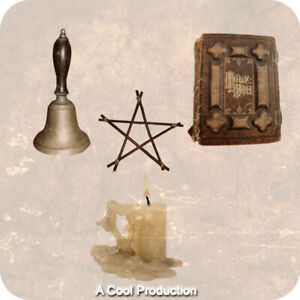 The Bell, Book, And Candle Witchfinder Witch Mentalism Bizarre Magic Card Trick