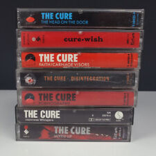 Lot 7 The Cure Cassette Tapes • Disintegration • Japanese • Wish • Head on Door