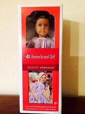 American Girl Felicity Mini Doll & Book NIB 6 inch  Merriman Retired
