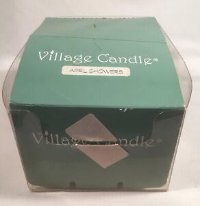 Lot 24 APRIL SHOWERS scent Village Candle Votive Candles