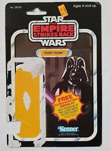 Vintage star wars Darth Vader 41 Kenner Card Back