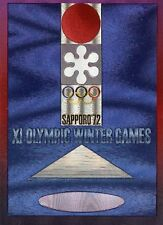 OLYMPIC GAMES WINTER OLYMPIAD XI SAPPORO 1972