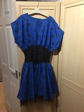 Ladies / Teenager Gypsy Style Fancy Dress. Approximately Size 10-12 Age 15-16