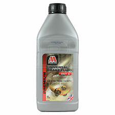 Millers Oils Universal Brake Fluid DOT 4 1 Litre 1L