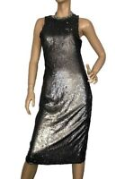 TRUE DECADENCE TALL SIZE 12 SEQUIN EMBELLISHED MIDI DRESS BNWT SPECIAL EVENTS