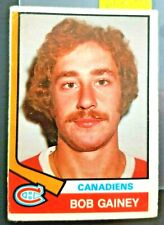 1974-75 O-Pee-Chee #388 Bob Gainey Canadiens ROOKIE **FREE COMBINED SHIP**R2038